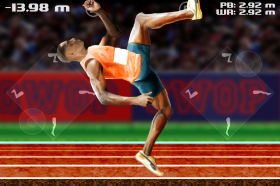Screenshot QWOP for iOS
