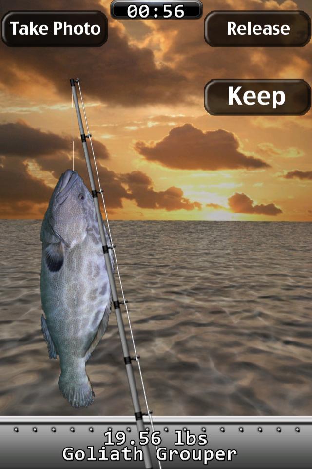 Screenshot i Fishing Saltwater 2